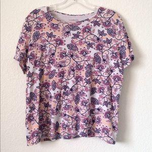 Ladies' Croft&Barrow Classic Tee SS T-Shirt (1X)